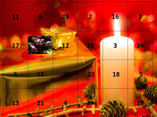 advent calendar 1st